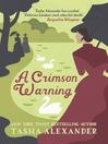 A Crimson Warning (eBook): Emily Ashton Series, Book 6