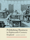 Publishing Business in Eighteenth-Century England (eBook)