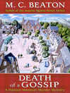 Death of a Gossip (eBook)