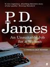 An Unsuitable Job for a Woman (eBook): Cordelia Gray Series, Book 1