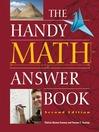 The Handy Math Answer Book (eBook)