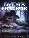 The Mammoth Book of Best New Horror 23 (eBook)