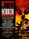 The Best New Horror 7 (eBook)