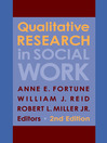 Qualitative Research in Social Work (eBook)