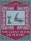 The Giant Book of Poetry eBook (eBook)