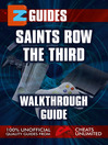 EZ Guides: Saints Row The Third (eBook)