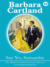 Say Yes Samantha (eBook): The Eternal Collection, Book 80