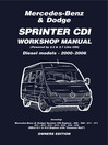 Mercedes Benz & Dodge Sprinter CDI 2000-2006 Owners Workshop Manual (eBook)