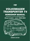 VW Volkswagen Transporter T4 Workshop Manual (eBook): Diesel Models: Owners Edition 2000-2004