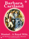 Wanted - A Royal Wife (eBook): The Pink Collection, Book 64