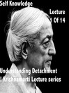 J Krishnamurti Lectures Series Ojai, Volume 1 (MP3)