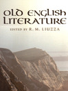 Old English Literature (eBook): Critical Essays