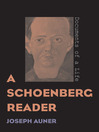 A Schoenberg Reader (eBook): Documents of a Life