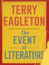 The Event of Literature (eBook)
