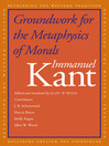 Groundwork for the Metaphysics of Morals (eBook)