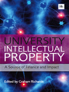 University Intellectual Property (eBook): A Source of Finance and Impact