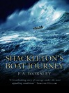 Shackleton's Boat Journey (eBook)