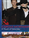 A Touch of Notoriety (eBook)