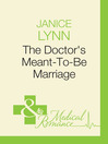 The Doctor's Meant-To-Be Marriage (eBook)