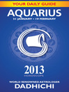 Aquarius 2013 (eBook)