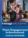 Their Engagement is Announced (eBook)