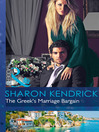 The Greek's Marriage Bargain (eBook)