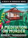A Meditation on Murder (eBook)