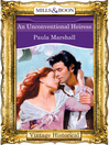 An Unconventional Heiress (eBook): Dilhorne Dynasty Series, Book 6
