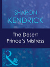 The Desert Prince's Mistress (eBook)