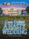 A Hasty Wedding (eBook)