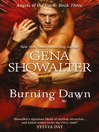 Burning Dawn (eBook): Angels of the Dark Series, Book 3