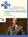 A Man of Honour (eBook): Audley Memorial Hospital Series, Book 9