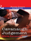 Cavanaugh Judgement (eBook)
