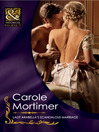Lady Arabella's Scandalous Marriage (eBook)