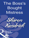 The Boss's Bought Mistress (eBook)