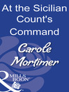 At the Sicilian Count's Command (eBook)
