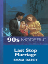 Last Stop Marriage (eBook)