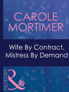 Wife by Contract, Mistress by Demand (eBook)