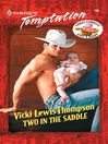 Two in the Saddle (eBook)