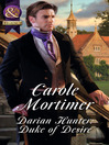 Darian Hunter (eBook): Duke of Desire; Dangerous Dukes, Book 3