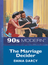 The Marriage Decider (eBook)