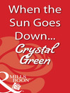 When the Sun Goes Down... (eBook)