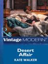 Desert Affair (eBook)