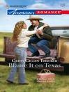 Blame It on Texas (eBook)