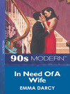In Need of a Wife (eBook)