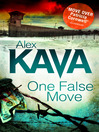 One False Move (eBook)