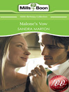 Malone's Vow (eBook)