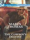 The Cowboy's Destiny (eBook): Cash Brothers Series, Book 4