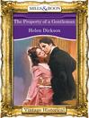 The Property of a Gentleman (eBook)