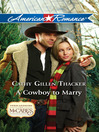 A Cowboy to Marry (eBook)